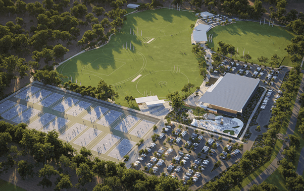 Baldivis District Sporting Complex Stage1